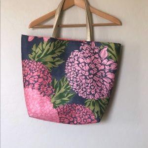 📚Floral Tote Bag